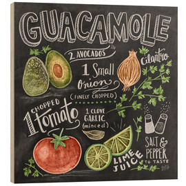 Hout print  Guacamole - Lily & Val