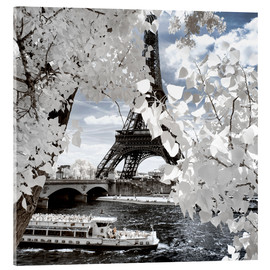 Acrylglas print  Infrared Shipping in Paris - Philippe HUGONNARD