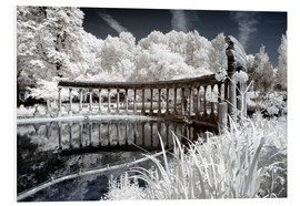 PVC print  Infrared - Old Architecture - Philippe HUGONNARD