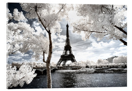 Acrylglas print  Infrared - Paris Eiffel Tower - Philippe HUGONNARD
