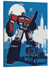 Aluminium print  Optimus Prime, Transformers - 2ToastDesign