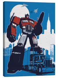 Canvas print  Optimus Prime, Transformers - 2ToastDesign