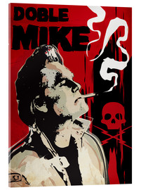 Acrylglas print  Doble Mike, Death Proof - 2ToastDesign