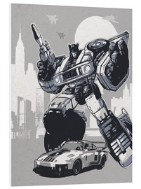 PVC print  Jazz, Transformers - 2ToastDesign