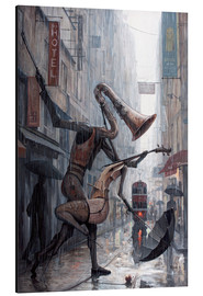 Aluminium print  Life is a dance in the rain - Adrian Borda