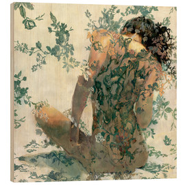 Hout print  Reve d'Or - Sergio Lopez