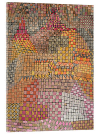 Acrylglas print  city ??Palace - Paul Klee