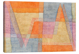 Canvas print  Light and Sharpness - Paul Klee
