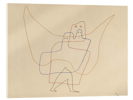 Acrylglas print  Angels Shut - Paul Klee