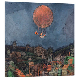 PVC print  The balloon - Paul Klee