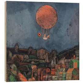 Hout print  The balloon - Paul Klee