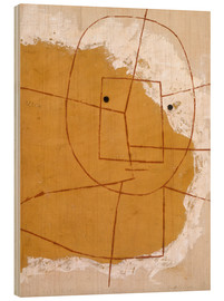 Hout print  One Who Understands - Paul Klee