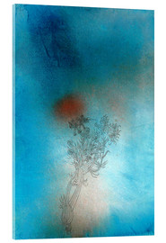 Acrylglas print  The plant and its enemy - Paul Klee