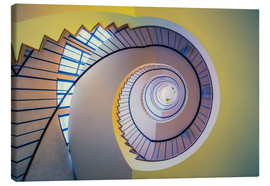Canvas print  Staircase in crayon - MUXPIX