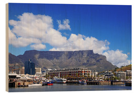 Hout print  Lovely Cape Town, South Africa - wiw