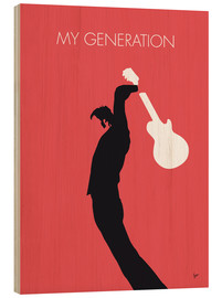 Hout print  The Who, My Generation - chungkong
