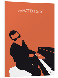 PVC print  Ray Charles, What'd I say - chungkong