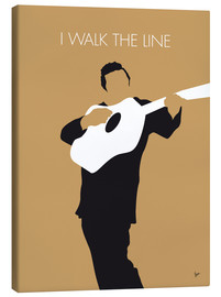 Canvas print  Johnny Cash - I Walk The Line - chungkong