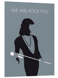 PVC print  Queen - We Will Rock You - chungkong