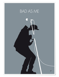 Premium poster  Tom Waits, Bad as me - chungkong