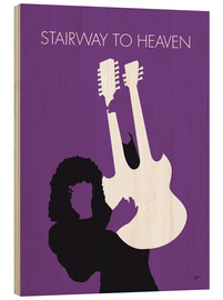 Hout print  Led Zeppelin, Stairway to Heaven - chungkong