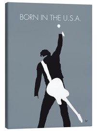 Canvas print  Bruce Springsteen, born in the U.S.A. - chungkong