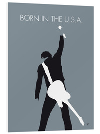 PVC print  Bruce Springsteen, born in the U.S.A. - chungkong