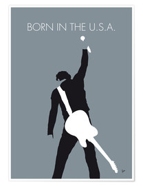 Premium poster Bruce Springsteen - Born In The U.S.A.