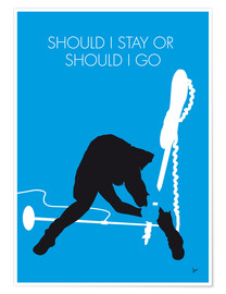 Premium poster The Clash - Should I Stay Or Should I Go