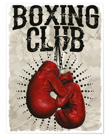 Premium poster Boxing Club