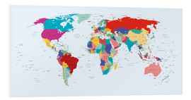 PVC print  World Map, 2003 - Kidz Collection