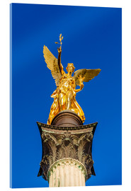 Acrylglas print  Angel of peace in Munich - Dieterich Fotografie