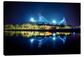 Canvas print  Bremen stadion - Tanja Arnold Photography