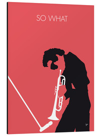 Aluminium print  Miles Davis, so what - chungkong