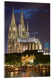 Acrylglas print  cathedral of cologne - Dieterich Fotografie