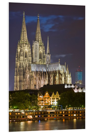 PVC print  cathedral of cologne - Dieterich Fotografie