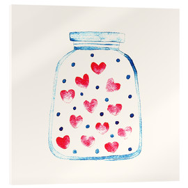 Acrylglas print  Love in a glass - Kidz Collection