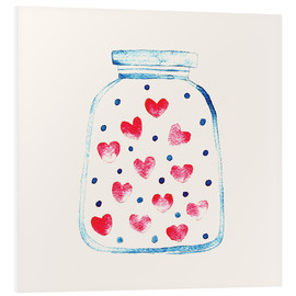 PVC print  Love in a glass - Kidz Collection