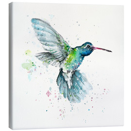 Canvas print  Hummingbird flurry - Sillier Than Sally