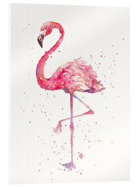 Acrylglas print  Sierlijke flamingo - Sillier Than Sally