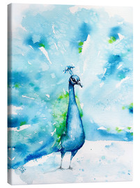 Canvas print  Peacocking Around - Sillier Than Sally