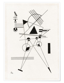 Premium poster  Lithograph I - Wassily Kandinsky