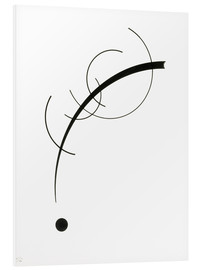 PVC print  Free Curve to the Point - Wassily Kandinsky