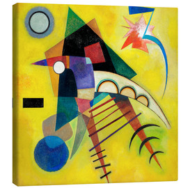 Canvas print  White point - Wassily Kandinsky