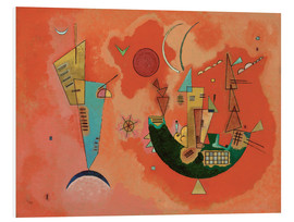 PVC print  With and against - Wassily Kandinsky