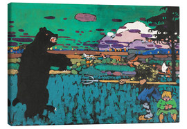 Canvas print  The Bear - Wassily Kandinsky