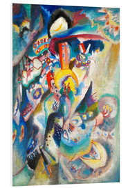 PVC print  Moscow II (Red Square) - Wassily Kandinsky