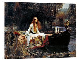 Acrylglas print  The Lady of Shalott - John William Waterhouse