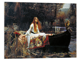 PVC print  The Lady of Shalott - John William Waterhouse