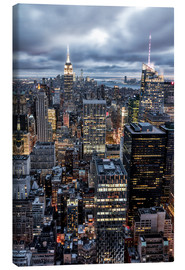 Canvas print  Cityscape New York, USA - Sören Bartosch